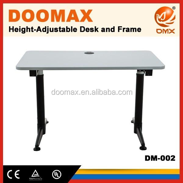 Dm 002 mobiliario de oficina ergon mico dos motor altura for Mobiliario ergonomico