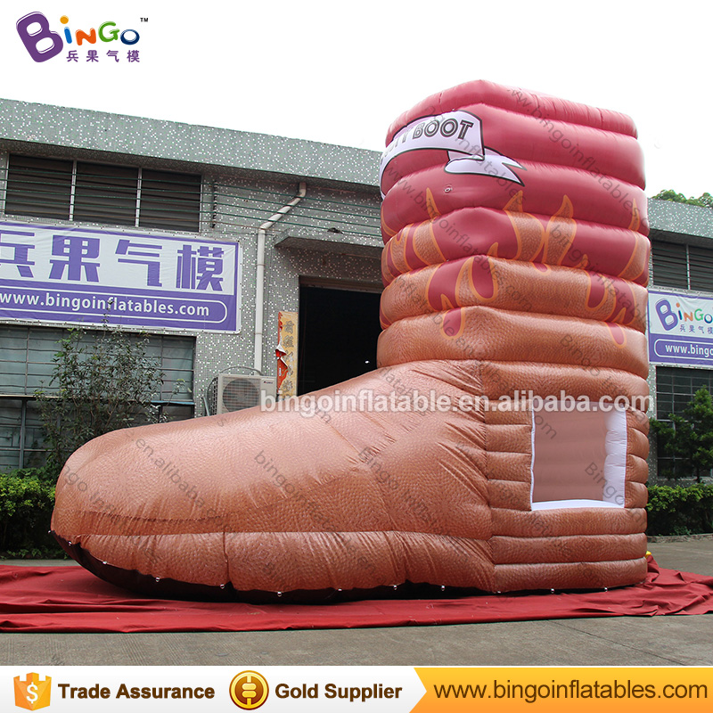 New design inflatable shoes replica sale tent Kiosk booth tent