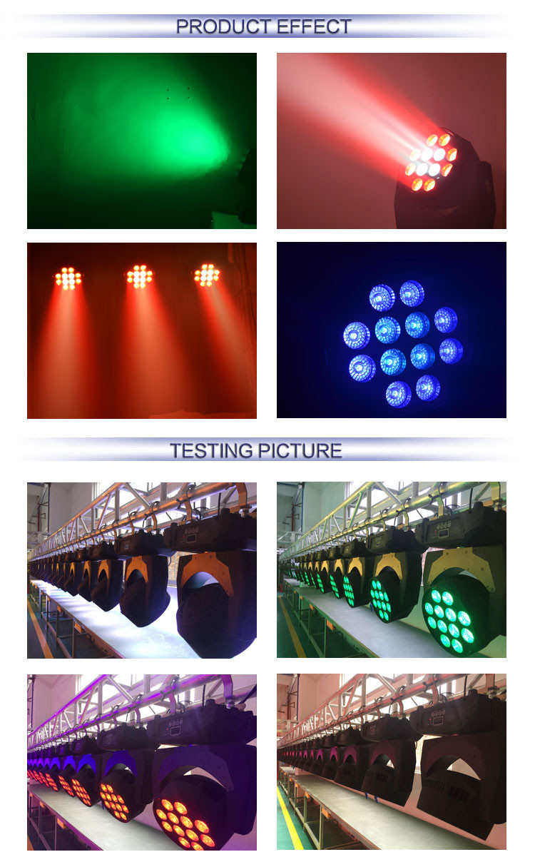 wholesale price ce rohs approved super beam motorized stage lighting equipment 12x15W rgbw 4 in 1 zoom wash beam moving head led