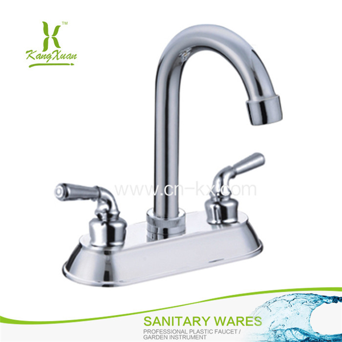 Factory New Design Abs Plastic Chromed Fancy Water Faucet