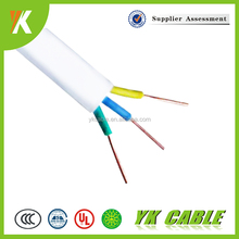 HFFR cable /LSOH CABLE manufacturing flat wire electric cable 3x2.5