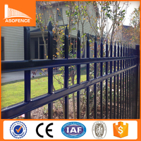 alibaba express Austrilia cyclone fencing, security garden fence, used wrought iron fencing