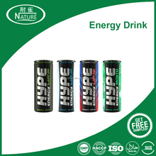 Powerful energy drink raw material and formulation