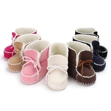 EVERETOP Wholesale new fashion fitting baby shoes kids practical boots new design baby wool shoes