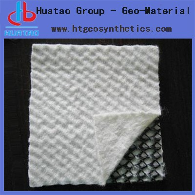 HDPE high quality geonet / drain composites / geocomposites