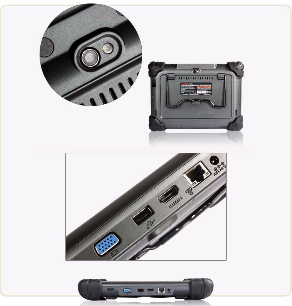 2017 Autel MaxiSys Pro MS908P Car Bluetooth/WIFI Diagnostic / ECU Programming Tool with J-2534 System Update Online
