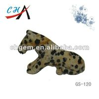 mottle stone animal carving&lovely dog carving