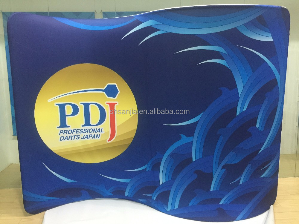 Aluminum tension fabric stand up advertisement display boards,tension fabric stand up, advertisement display boards