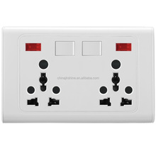 Factory Prices Bangladesh Wall Switch 8 Pin Socket