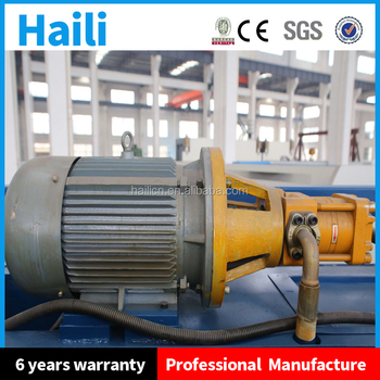 10mm thickness 3m length shearing machine with CE