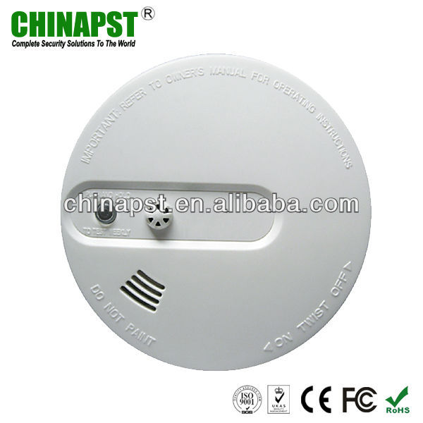 Independent 110V AC/220V AC Photoelectronic Smoke Detector PST-SD303