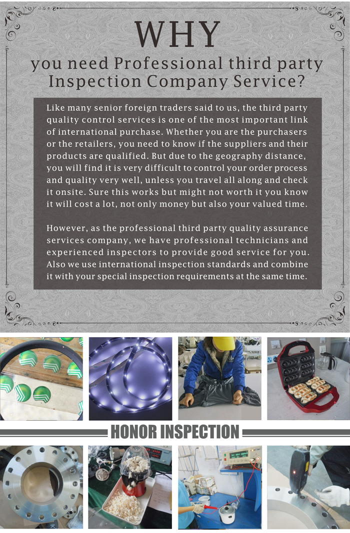Honor professional factory audit service