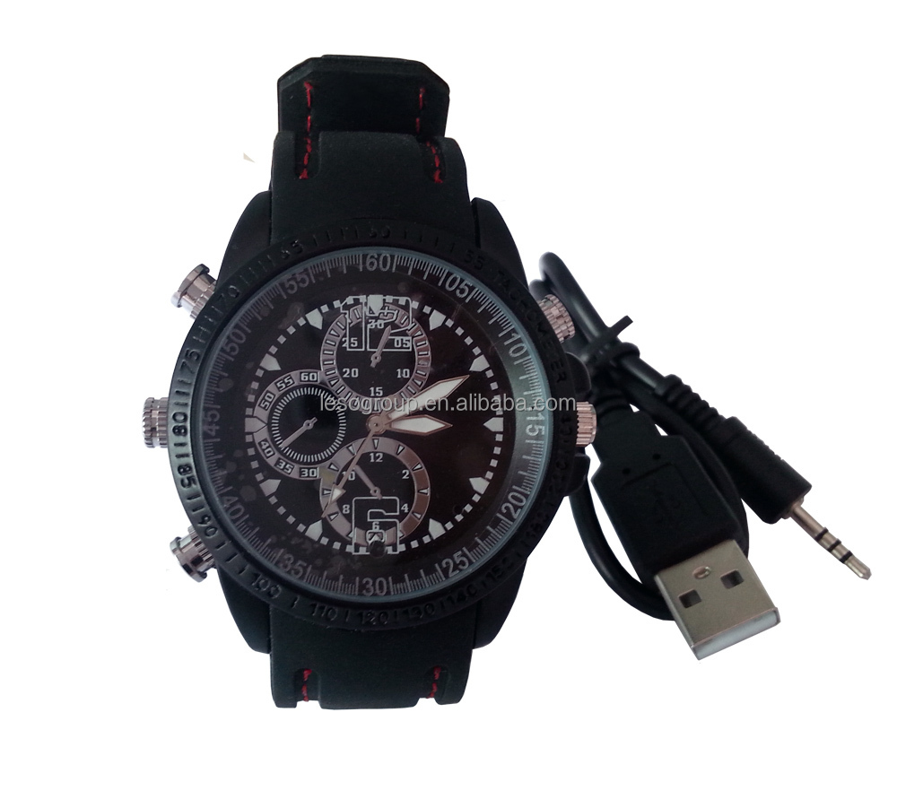 spy watch with mini hidden camera video recorder