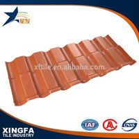 Excellent corrosion resistance grey synthetic resin roofing tile in cheap price