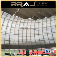 RRAJ Outdoor Motorized Sunscreen Fabric Bottom up and Roll-up Roller blinds
