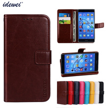 Luxury Flip PU Leather Wallet Mobile phone Cover Case For Huawei Enjoy 7 Plus with Card Holder