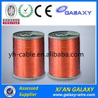 Triple Insulation Copper Conductor Round Type 1.5mm Copper Enameled Wire For Winding motor and Transformer
