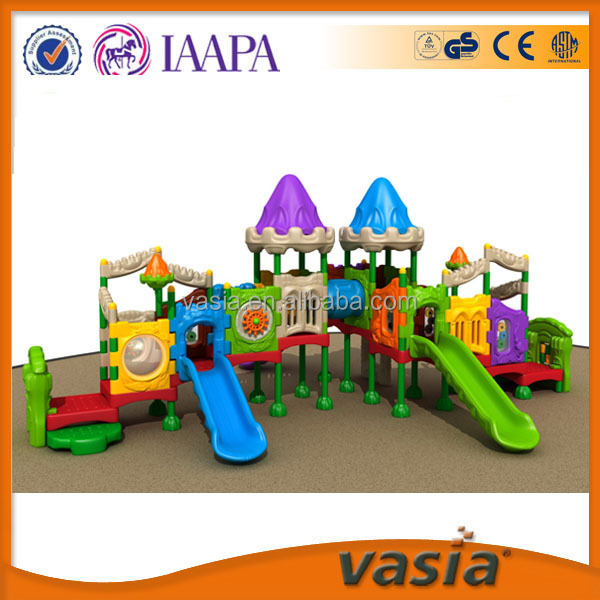 children outdoor playground big slides for sale safe equipment LLDPE plastic