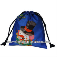 2013 new Non woven drawstring backpacks for children gift