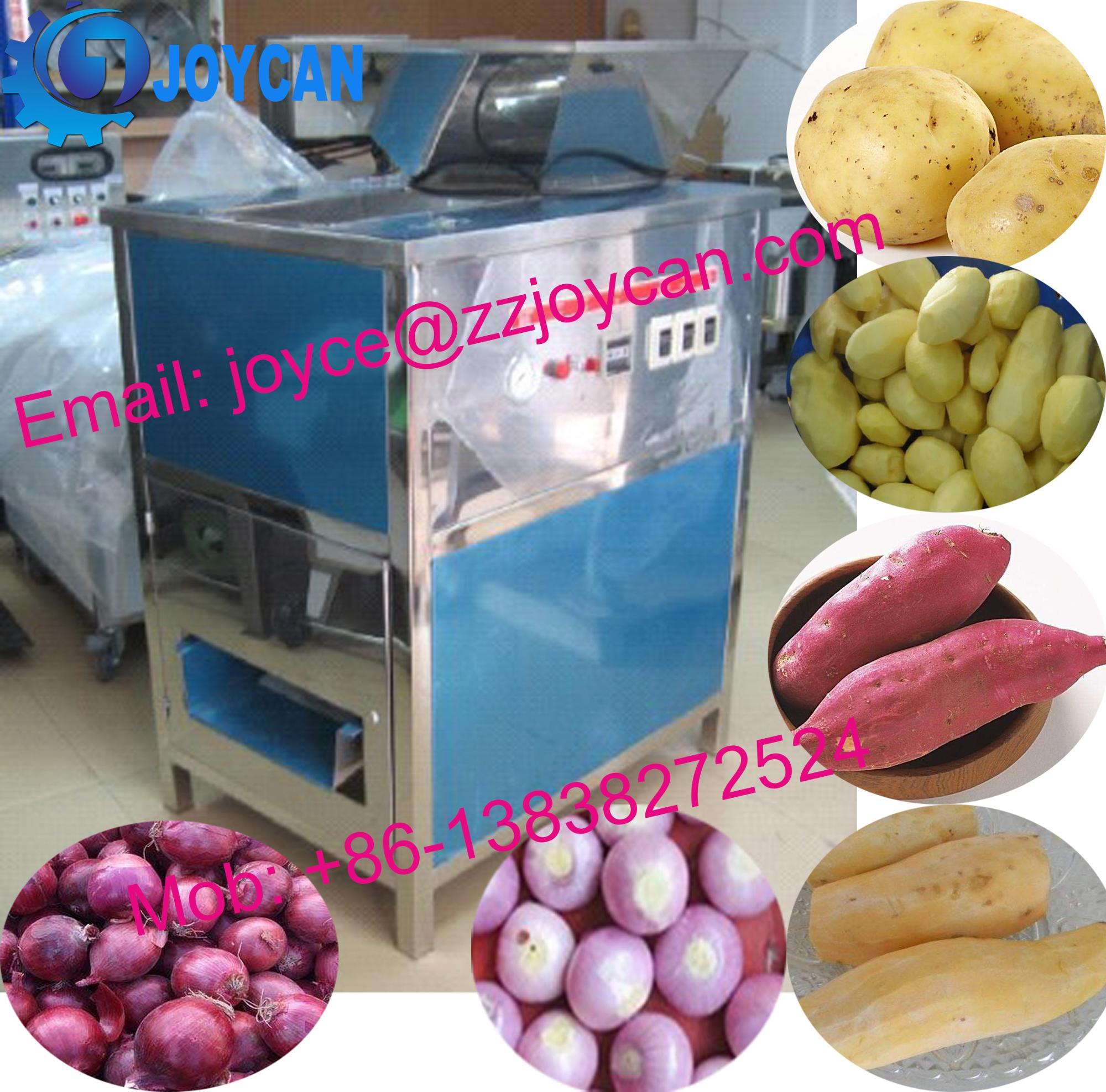 High efficient Clear onion peeling machine with dry way and wet way