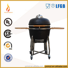 smokeless charcoal barbecue grill