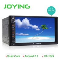 "Android 5.1 7"" touch screen car dvd player head Unit 2 din car dvd player system skoda octavia"