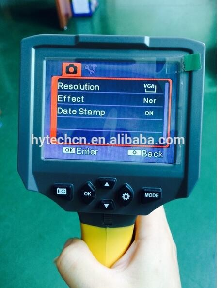 Hot Sale Snake Tube Camera 3.5 Inch LCD Screen Video Borescope