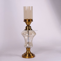 Factory direct sale strong packing plexiglass candelabrum with many colors