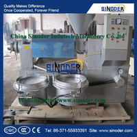 Supply groundnut oil grinding machine soyabean oil extraction plant sunflower seed oil refining machine -Sinoder Brand