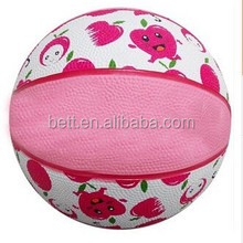 Promotional natural rubber basketball