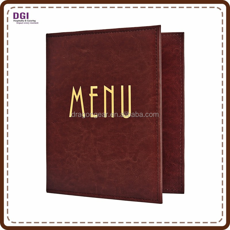 Hotel Restaurant Supplies equipment latest menu design restaurant menu file folder