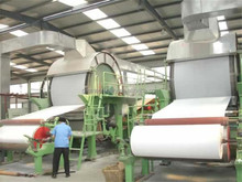 small scale facial tissue full automatic machines and paper production line for sale