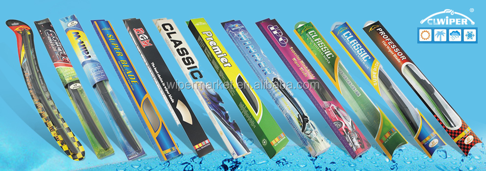 All weather heavy rain windshield wiper blade fit for 95% cars