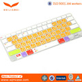 "Ultrathin and soft Keyboard Protective smart silicone Cover for Macbook 12"" Retina new cover Made in China"