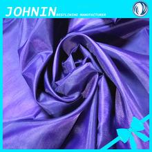 Polyester Taffeta 170t 190t 210t fabrics for lining / umbrella / car cover