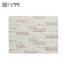 Wholesale New Style Exterior Wall Natural Decorating Stones/Stone Type Veneer/White Slate Price