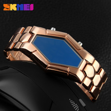 wholesale china factory watch skme led movt flashing light watch