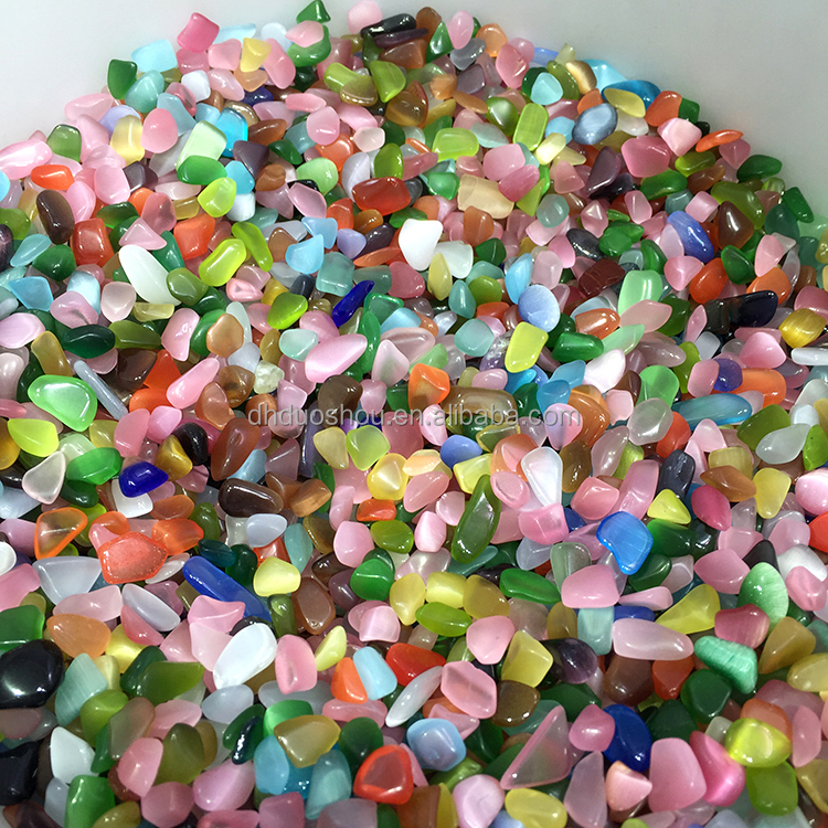 Wholesale Polished Tumbled Stones Macadam Opal Aquarium Gravel