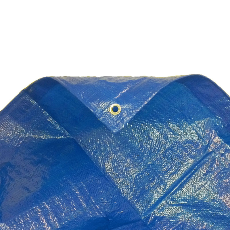 new arrival protection uv pe tarp fabric with aluminium buckle