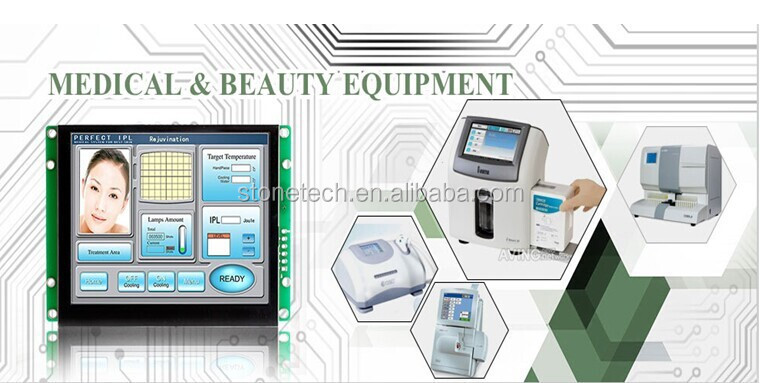 5 inch lcd display with smart touch monitor and smart industrial screen for home automation