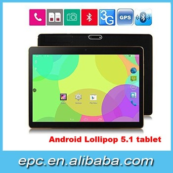 factory 9.6 inch quad core 3G Phone call tablet pc IPS 1280x800 Android 5.1 1GB+16GB GPS Dual Sim /Camera 3G