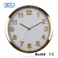 New Products Silent Sweep Movement 3D Digital Wall Clock