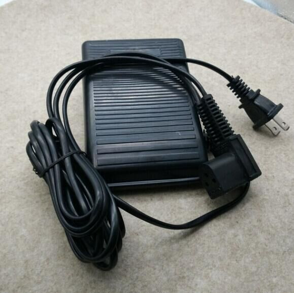 FOOT CONTROL PEDAL W// Cord Singer 413K13 417 418 495 502 507 509 513 514 518 522
