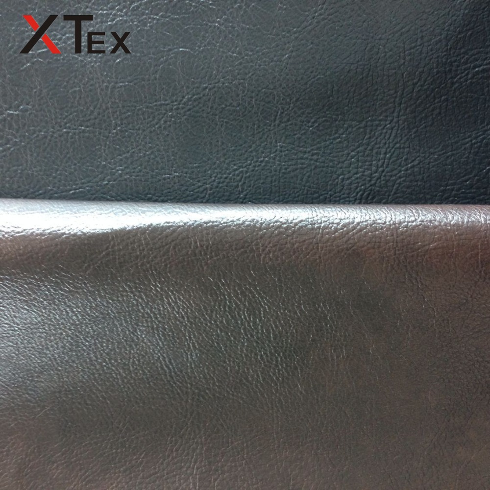 wholesale embossed synthetic leather, imitation leather,vinyl fabric rolls for sofa furniture raw material price per meter