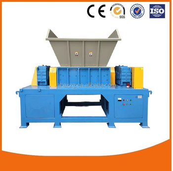 High quality heavy duty plastic crusher machine/ iron box shredder machine/steel shredder for Recycling Center