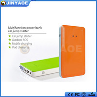 peak current 400A 7500mah 12v mini emergency power bank with car starter