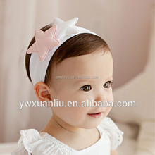2015 New Trendy Fashion Top Baby <strong>headband</strong>/hairband with felt Star