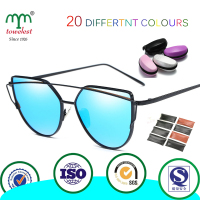 Amazon Hot Custom Case Metal Sunglasses