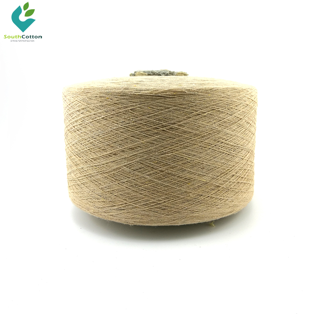 Sell stocklot dyed cotton carpet yarn recycled in south india polyester oe
