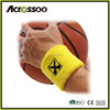 promotional sport cotton tennis sweatband /custom sweatband wristband